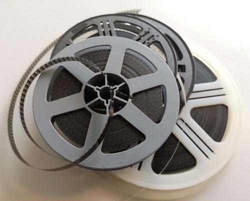 Geschat aantal minuten 8 mm film